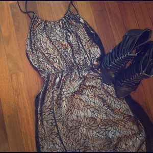 Stella & Jamie Dresses & Skirts - Price Drop! Lace Overlay Dress by Stella & Jamie