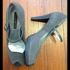 Bandolino Shoes - Bandolino suede heels