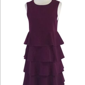 Theory tiered sleeveless dress