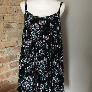 Torrid a-line floral dress size 1.