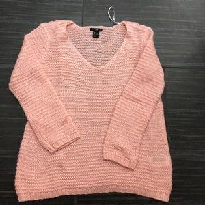 H&M blush knitted sweater size XS