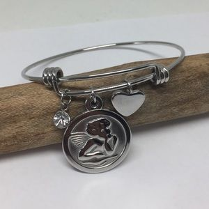 Jewelry - Stainless Steel Charms Bracelet