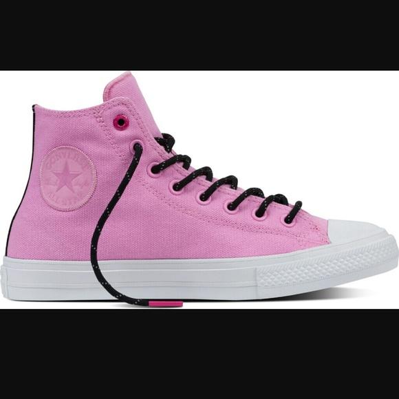 0d2b7cd8f9ccb9 Converse Chuck Taylor II 2 High Top Pink