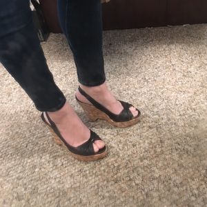 Banana Republic wedges size 7