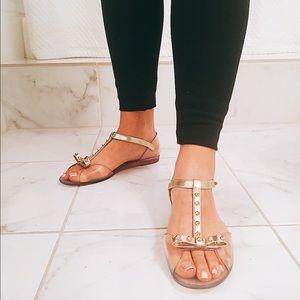 4e73c540277e Stuart Weitzman Shoes - Stuart Weitzman Nifty Jelly Flat Sandal