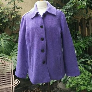Appleseed's Jackets & Blazers - A touch of spring in winter. Warm lavender coat