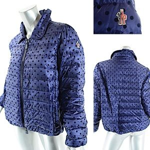 Moncler Navy Blue  SAINTLO PADDED JACKET  5 US XL