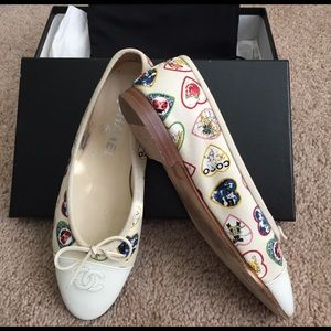 Authentic COCO CHANEL flats. Excellent condition