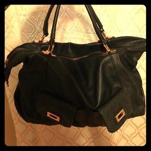 Urban Expressions Handbags - Black faux leather purse