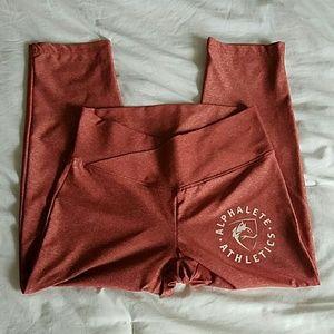 Alphalete cropped leggings
