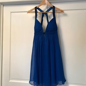 Shimmery Blue forever 21 dress
