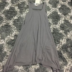 Dresses & Skirts - Gray racerback dress small NWT