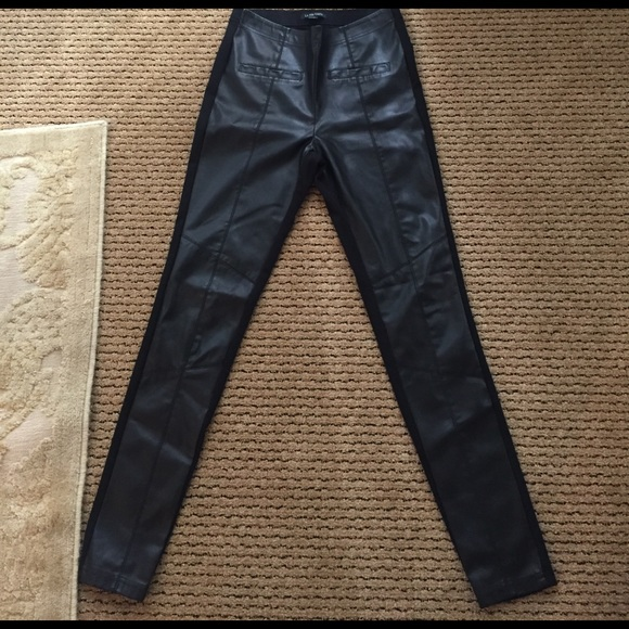 a7812bed602558 Anthropologie Pants | La Fee Verte Vegan Leather Leggings | Poshmark