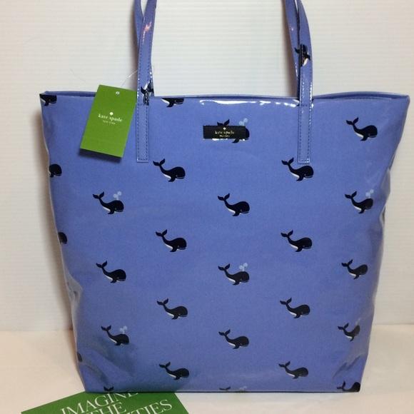 kate spade Handbags - NWT Kate Spade Whale Tote Bag