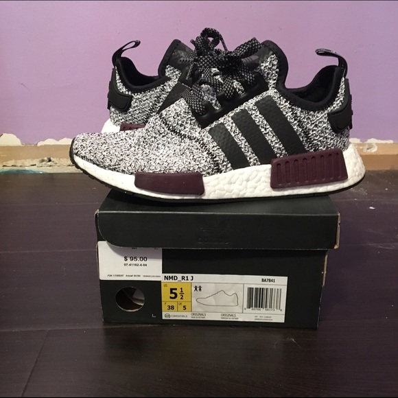 Adidas Shoes - Adidas NMD R1 GS Champs Exclusive Burgundy 3M 5.5y 23e2ab6520