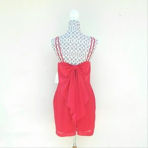 BONGO Dresses & Skirts - NEW Cute Back Bow Sleeveless Dress Size 7