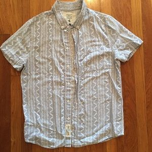 NATIVE YOUTH Other - Tribal print short sleeve shirt by Native Youth.