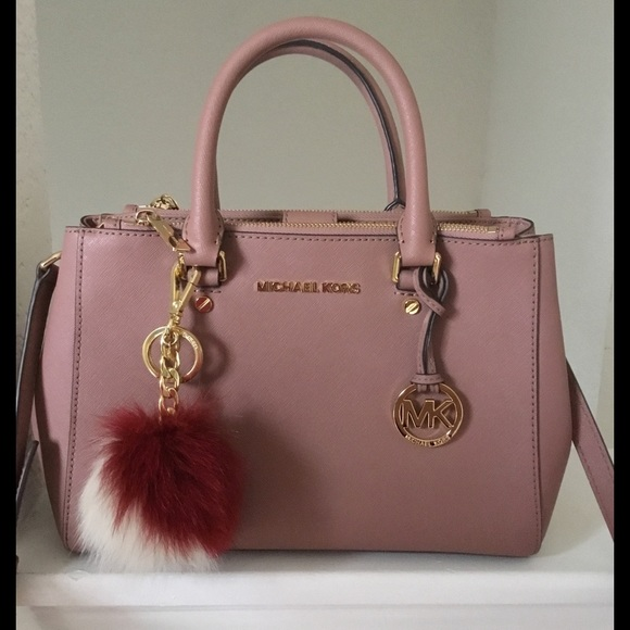 3160bd20a243 ... low price new zealand sold michael kors sutton dusty rose satchel bag  f4285 d5e85 b5809 24ac8