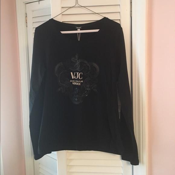 7c8e41efb1d Versace Jeans Couture Tops   Long Sleeve Tshirt   Poshmark