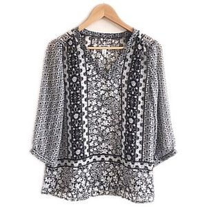 Old Navy Tops - Brand new Old Navy sheer black and white top