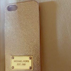 Michael Kors iPhone 5/5s/5se case
