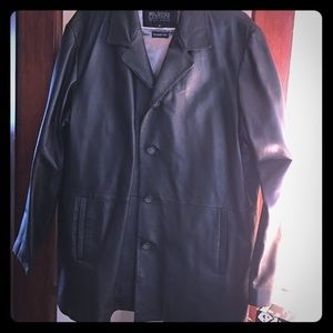 Wilsons Leather Other - Wilsons Brown Leather Coat