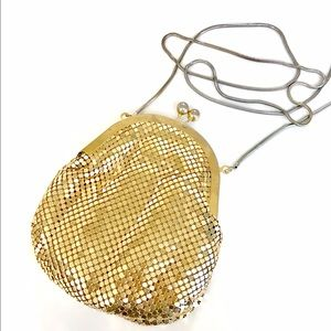 Vintage gold sequin clutch/purses from the 70's