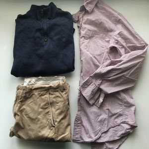 J. Crew Other - J. Crew // Factory Tailored Woven Button Down