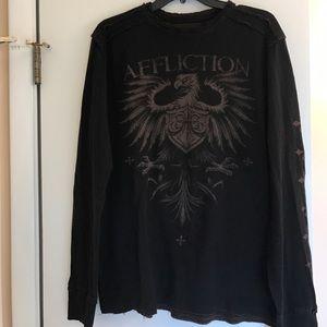 Affliction Other - Men's Affliction thermal shirt