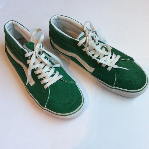 79ef0005a9 Van s Suede canvas Sk8-Hi Mid pro sneakers. M 58b199a62599fe84c700389b