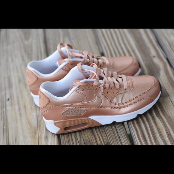 Nike Shoes Air Max 90 Rose Gold Brand New Poshmark