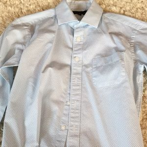 Report Collection Other - Boys Blue and white patterned dress shirt