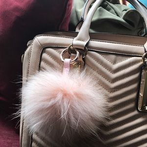 Francesca's Collections Accessories - Pom Pom Keychain😱