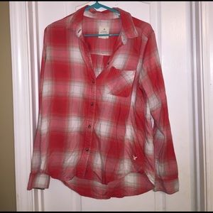 American Eagle Outfitters Tops - CLOSETCLEAROUT✨AE plaid shirt!
