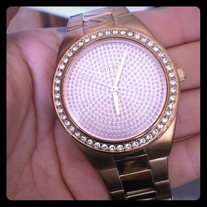 Guess Accessories - Rose gold GUESS watch