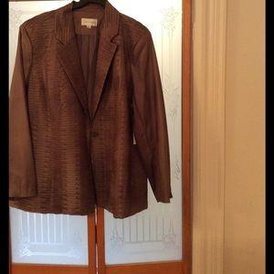 London Fog Jackets & Blazers - Silk blazer