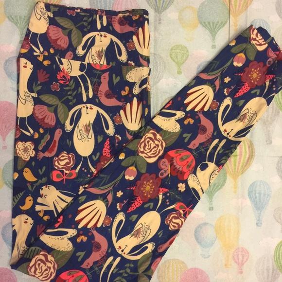 6fde0cf2825270 LuLaRoe Pants | Unicorn Tc Bunny Leggings | Poshmark