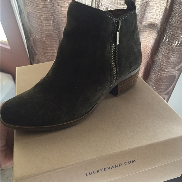 0191fdf63739 Lucky Brand Shoes | Basel Flat Bootie | Poshmark