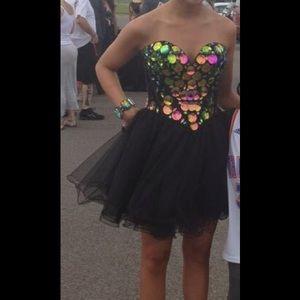 Sherri Hill Dresses & Skirts - Black Sherri Hill short Prom Dress