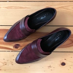 Shoes - Burgundy Loafers