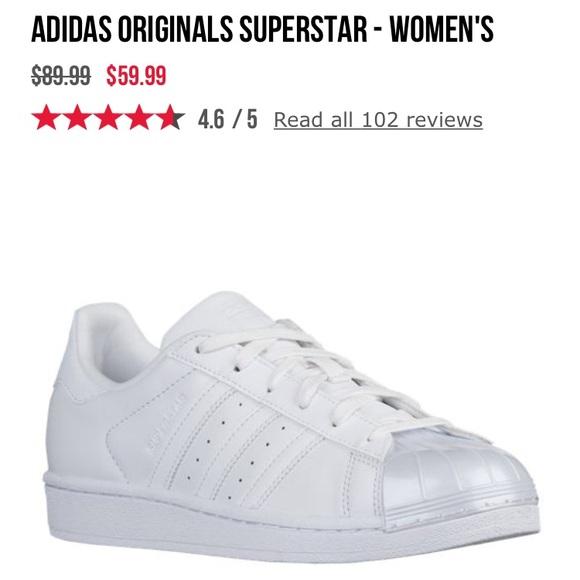 Adidas Superstar glossy toe 9.5