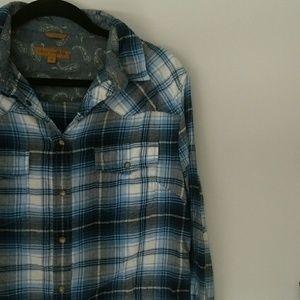 Jachs Girlfriend Flannel Shirt!