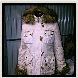 fa5c7e413 J by Jasper Conran Jackets & Coats - Maine New England faux fur trim hooded  jacket