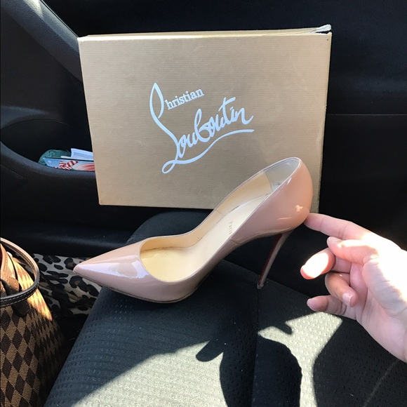 9ee9d08080 Christian Louboutin Shoes | Nude Color Cl So Kate 120 Mm | Poshmark