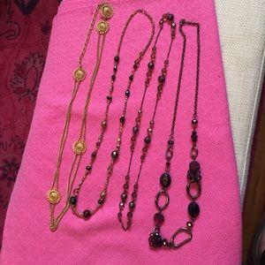 Long Necklace bundle!