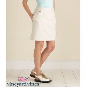 Vineyard Vines Pants - EUC Vineyard Vines Caddie Golf Skort Skirt Khaki 8