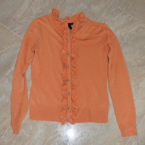 Sweaters - Beautiful Orange Cardigan
