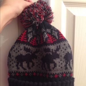 Forever 21 Accessories - Moose Beanie