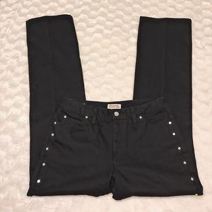 MICHAEL Michael Kors Denim - Michael Kors | Black Studded Jeans