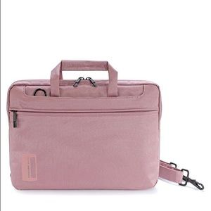 "Tucano Handbags - Tucano Pink Laptop Bag Best Fits 13"" Pre-loved"